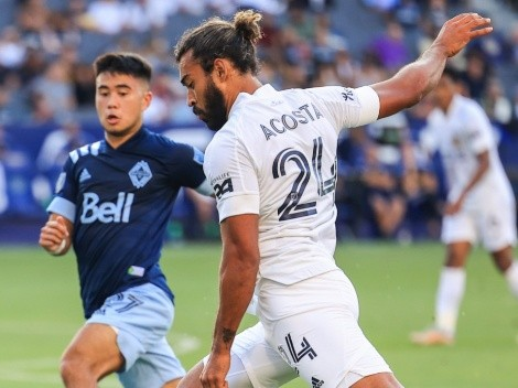 Con asistencia de Efraín Álvarez incluida, LA Galaxy empató ante el débil Vancouver Whitecaps
