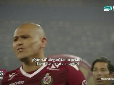 El tenso cruce entre Humberto Suazo y Cristian Paulucci