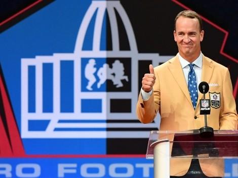 El discurso de Peyton Manning al entrar al Salón de la Fama