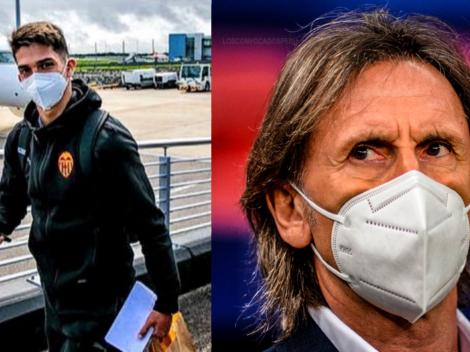 """Ricardo Gareca sobre una convocatoria a Alessandro Burlamaqui: """"Está en una liga muy importante"""""""