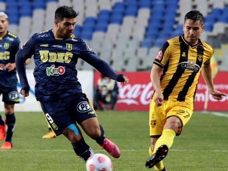 Fernández Vial y U. de Concepción igualan en la Primera B