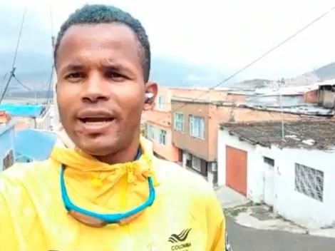 """Atleta colombiano llegó de Tokio y un taxista """"se le llevó"""" sus pertenencias"""