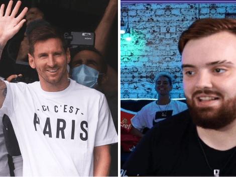 Cómo seguir en vivo la presentación de Messi en el PSG en el stream de Ibai