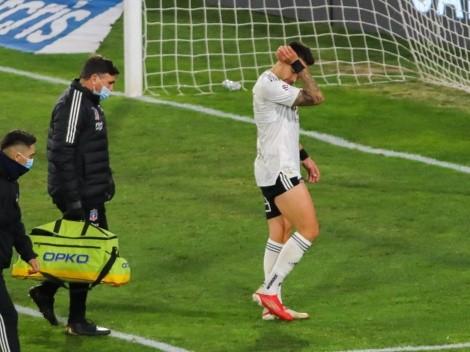 Matías Zaldivia sufre desgarro y será baja en Colo Colo por tres semanas
