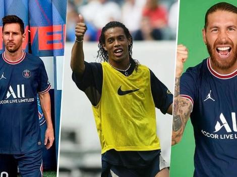 "Ronaldinho le pone el listón alto a PSG: ""Huelo a Champions"""