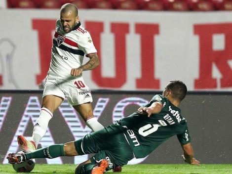 Dani Alves jugó con Sao Paulo, tres días después de ganar el oro olímpico