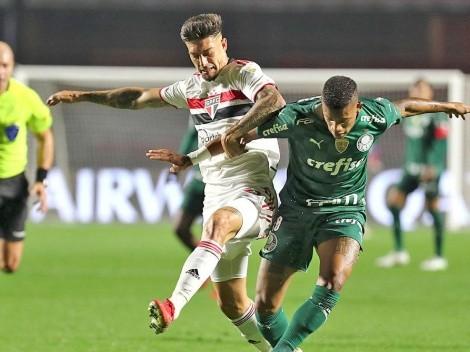 Palmeiras sacó la casta de campeón y le empató a Sao Paulo, en Libertadores