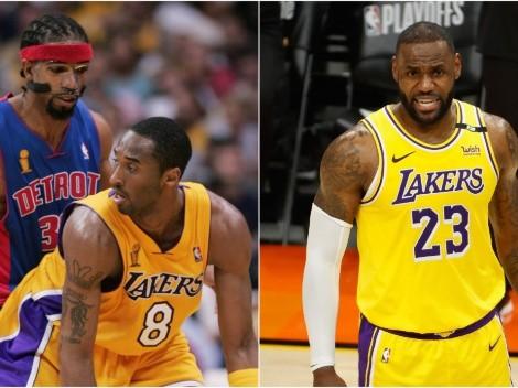 El antecedente que predice la derrota del equipo veterano que formó Lakers