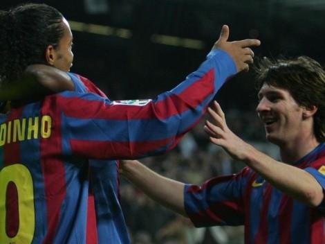 Messi 'copia' el camino de Ronaldinho