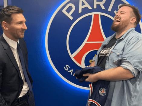"Ibai comprometió a Messi en la primera pregunta: ""¿Tú crees que comí mucho?"""