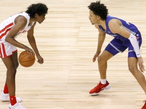 Los dos mejores del Draft 2021 se vieron las caras en NBA Summer League