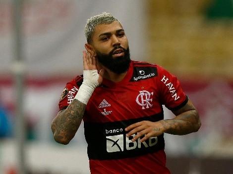 Flamengo se llevó un valioso triunfo en Paraguay por la Copa Libertadores