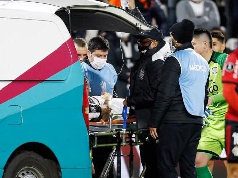 Pronta recuperación: parte médico de Víctor Salazar tras duro golpe