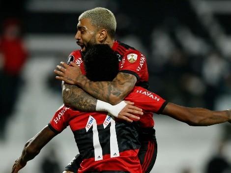 Son el candidato: Flamengo goleó a Olimpia y tiene un pie en semis