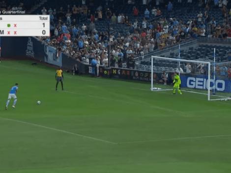 No fue una gran noche: Alexander Callens falló su penal y New York FC quedó eliminado