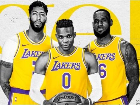 """¡Lakers y Nets no están solos! Los 5 """"Big 3"""" de la NBA 21-22"""