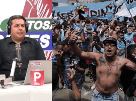 "Oyente de Exitosa Deportes a Gonzalo Núñez: ""Tanto rajas de Cristal, gallina de mie..."""
