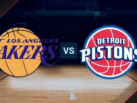 Los Angeles Lakers vs. Detroit Pistons EN VIVO por la NBA Summer League: Pronóstico, horario, canal de TV y streaming EN DIRECTO