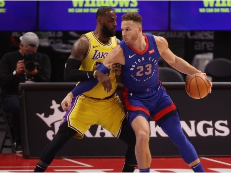 Blake Griffin throws shade at the new-look Lakers