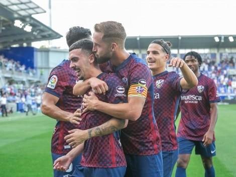 ¡Bravo, Nacho...! Ambriz ganó en su debut oficial como DT del Huesca