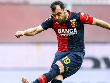 Goran Pandev se rehúsa a colgar las botas: renovó con Genoa
