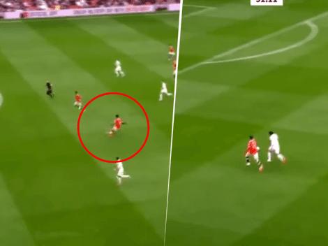 Medio gol es de él: Pogba y un pase demencial para Greenwood en el 2 a 1 del United