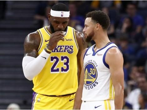 El día que LeBron James liquidó a Stephen Curry con un triple