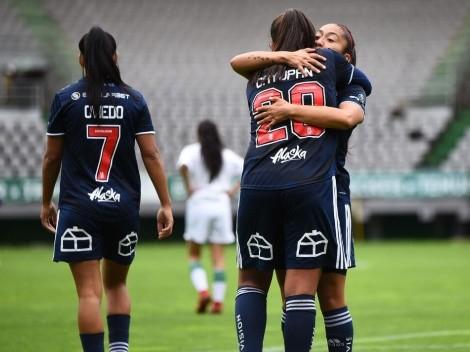 La u goleó a Deportes Antofagasta en la reanudación del fútbol femenino