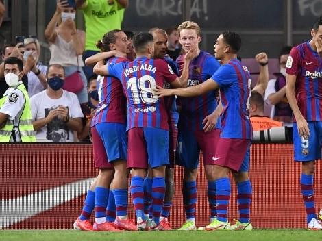Barcelona goleó en el primer partido sin Messi