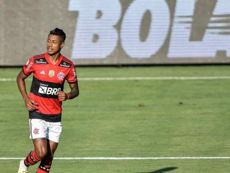 Bruno Henrique marca na vitória do Flamengo e assume a artilharia do Brasileirão