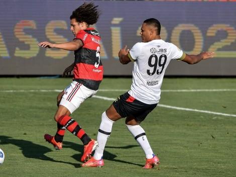 Flamengo têm desfalques confirmados para enfrentar o Ceará pela 17ª rodada do Campeonato Brasileiro