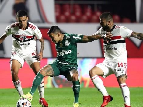 Las formaciones que usarían São Paulo y Palmeiras para la Copa Libertadores