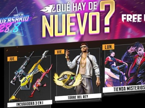 Free Fire presenta su nueva Agenda Semanal ¡Regresa la Tienda Misteriosa!