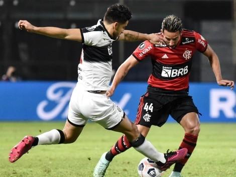 Las probables formaciones para el duelo entre Flamengo y Olimpia por Copa Libertadores