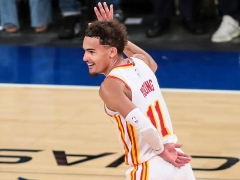 Trae Young, verdugo de los Knicks, volverá a New York en Navidad