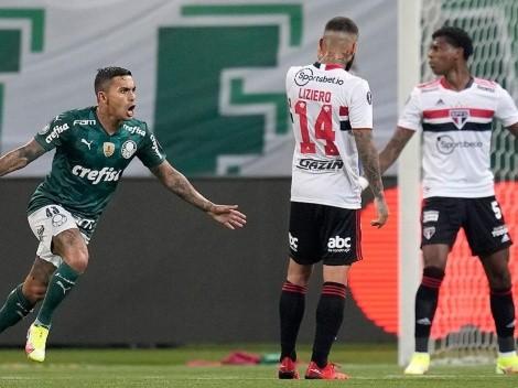 El campeón está en semis: Palmeiras goleó a Sao Paulo, por Libertadores