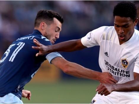 Rayan Raveloson niveló las acciones para Los Angeles Galaxy