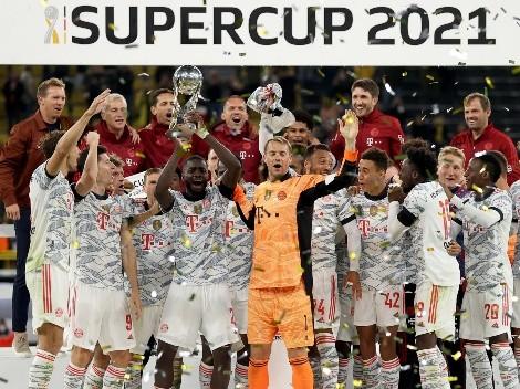 Lewandowski se destaca, Bayern vence Borussia Dortmund e conquista Supercopa