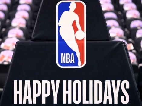 OFICIAL: el calendario de partidos a jugarse en Navidad de NBA 2021