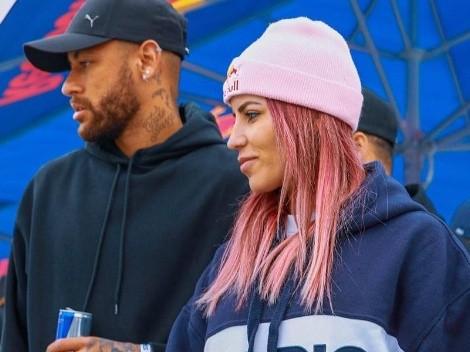 Neymar parabeniza Leticia Bufoni por conquista de campeonato em Paris