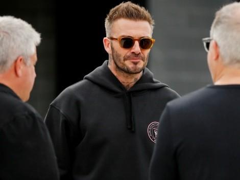 """David Beckham """"juega"""" con la idea de salir de su retiro para volver en MLS"""
