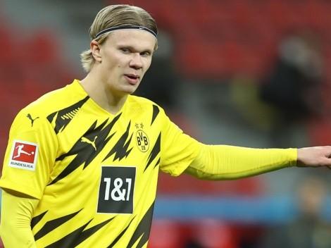 """Borussia Dortmund garante Haaland para a disputa da temporada 2021-22: """"Ele com certeza vai ficar"""""""
