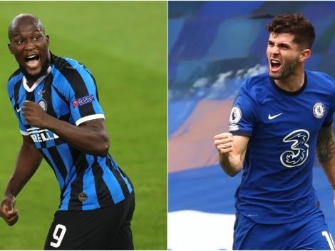La emoción de Christian Pulisic por jugar con Romelu Lukaku en el Chelsea