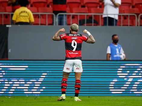 Flamengo volvió a aplastar a Olimpia y se metió en semifinales