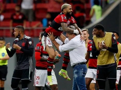 Da miedo: Flamengo se metió en semis después de un 9 a 2 global a Olimpia
