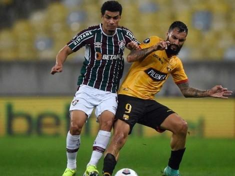Posibles formaciones de Barcelona vs. Fluminense, por Copa Libertadores