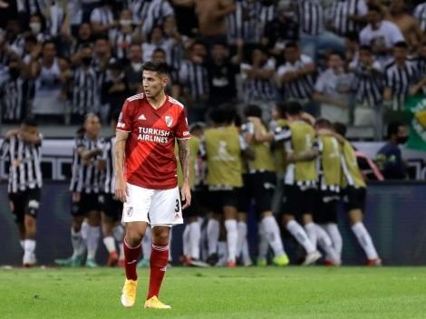 River quedó eliminado ante un Mineiro que lo pasó por encima