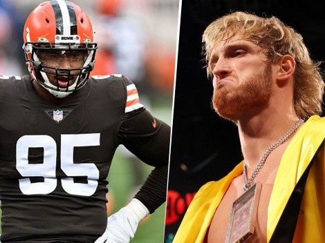 Apareció un jugador de la NFL que quiere acabar con Logan Paul