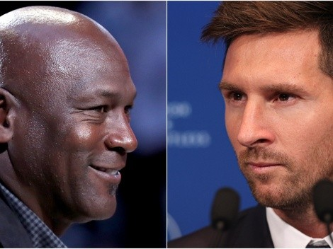 How much money did Michael Jordan make from Lionel Messi's PSG jersey sales?