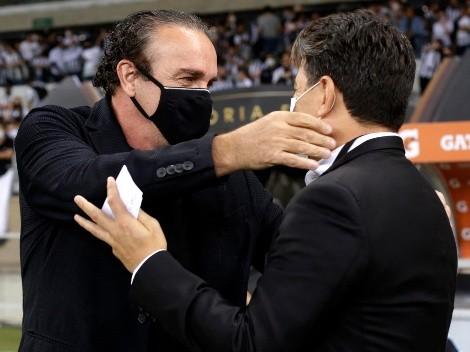 "Cuca: ""River solo jugó al fútbol, no hizo ni una queja"""